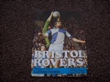 Bristol Rovers v Luton Town, 1976/77